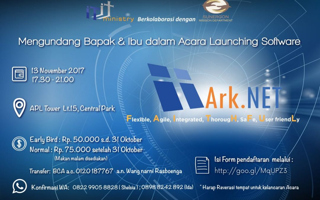 Ark.NET Launch Event!